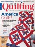 Love of Quilting Magazine_