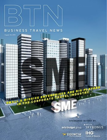 BTN (Business Travel News) Magazine