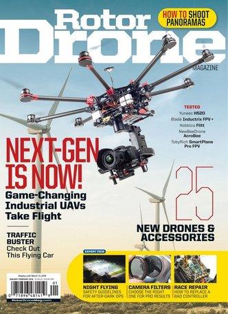 Rotor Drone Pro Magazine