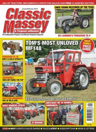 Classic Massey & Ferguson Enthusiast Magazine