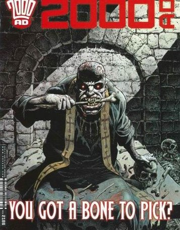 2000 AD Weekly Magazine