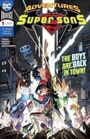 Adventures of the Super Sons (DC Comic)
