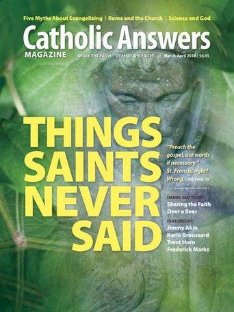 Catholic Answers Magazine