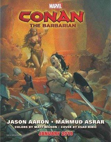 Conan The Barbarian (Marvel Comic)