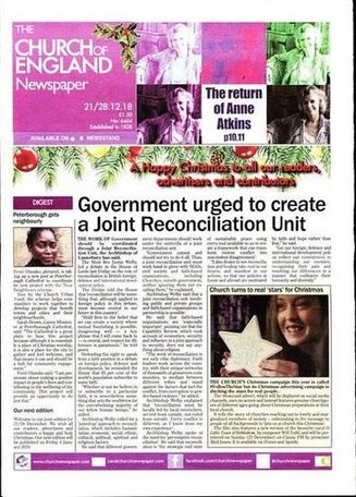 Church of England Newspaper Magazine
