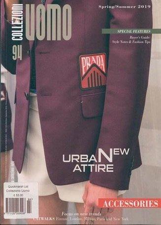 Collezioni Uomo Magazine (English Edition)