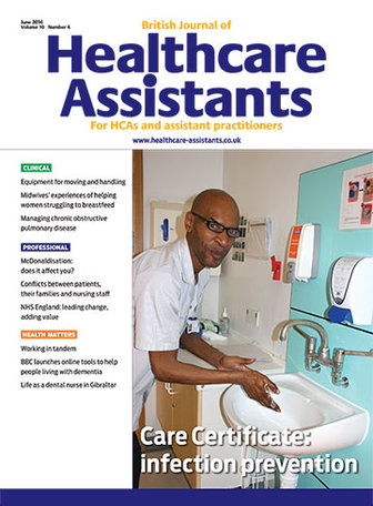British Journal of Healthcare Assistants